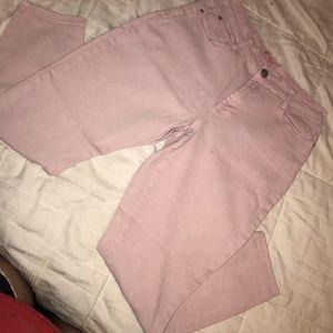 Light Pink Capris